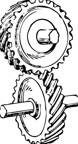 Gears Mechanisms Helm Rotate Alternate Wheel Engin