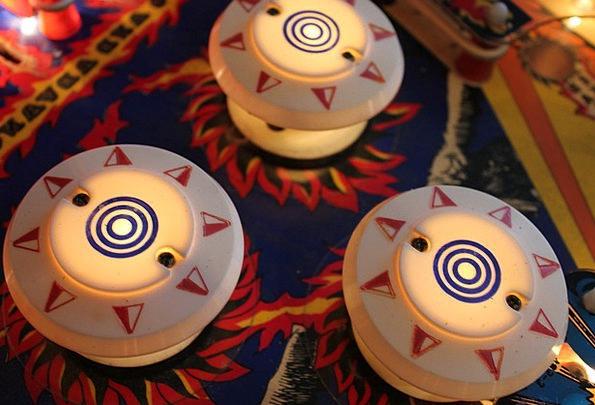 Pinball Plentiful Shock Tower Bumper Play Producti