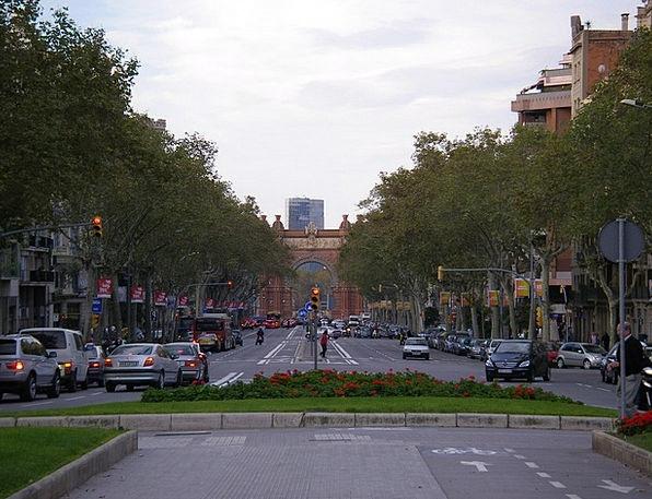 City Buildings Architecture Las Ramblas Street Spa