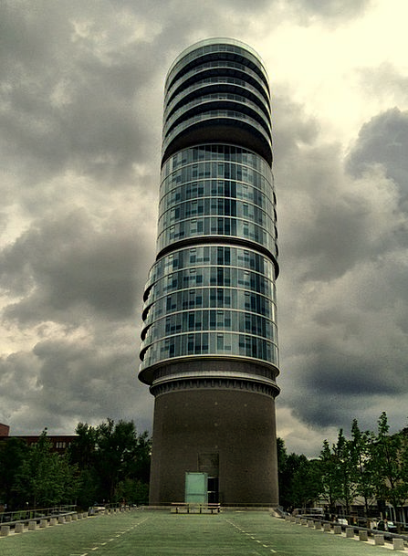 Exzenterhaus Buildings Tower Architecture Architec