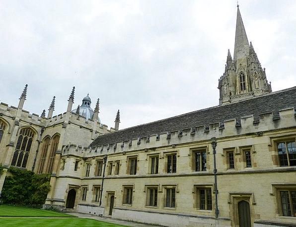Oxford Buildings Architecture Building Structure E