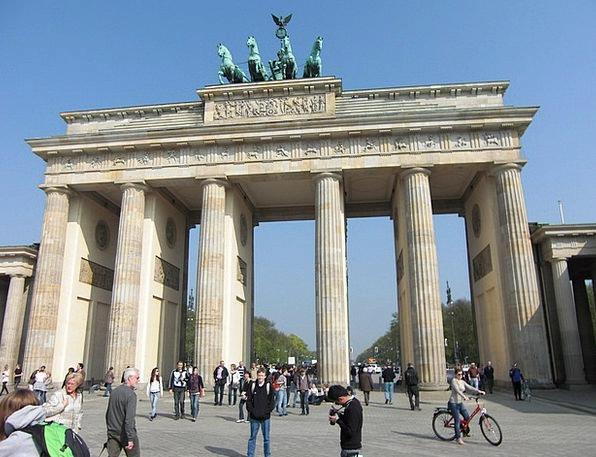 Brandenburg Gate Buildings Architecture Quadriga B