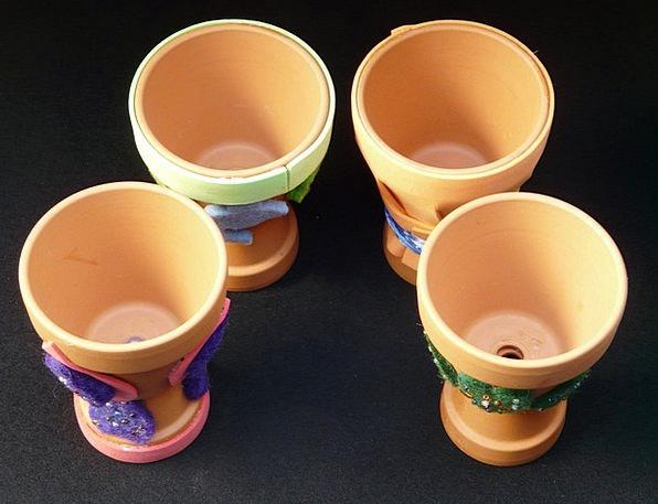 Egg Cups Home-based Do It Yourself Homemade Handic