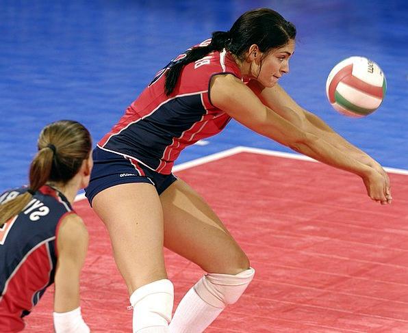 Women'S Volleyball Reappearance Serve Help Return