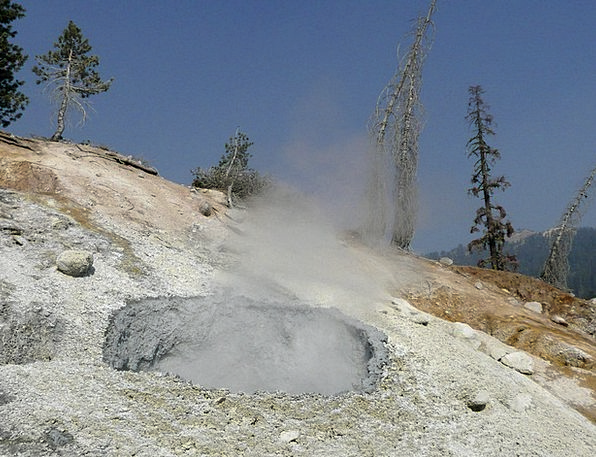 Lassen Volcano National Park Usa California Erosio