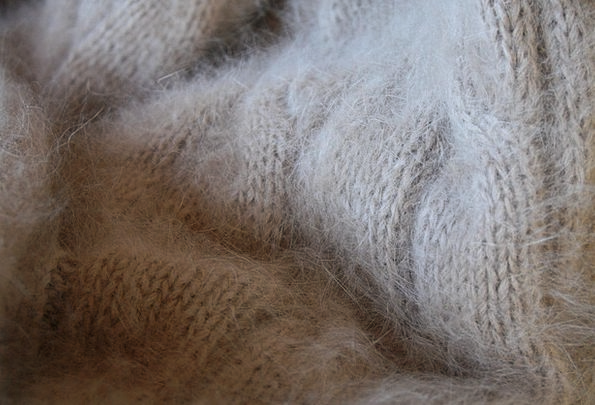 Angora Join Wool Knit Fluffy Fleecy Soft Textiles