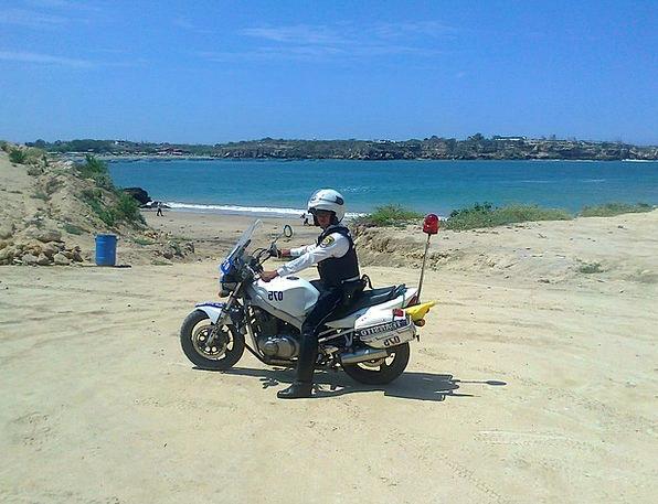 Ecuador Vacation Marine Travel Ocean Sea Policeman