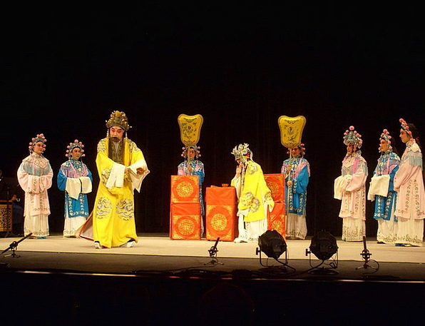 Opera Masque Stage Phase Chinese China Act Enterta