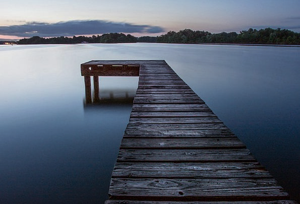Pier Dock Landscapes Breakwater Nature Lake Freshw