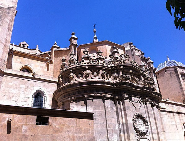 Murcia Buildings Architecture Side View Cross sect