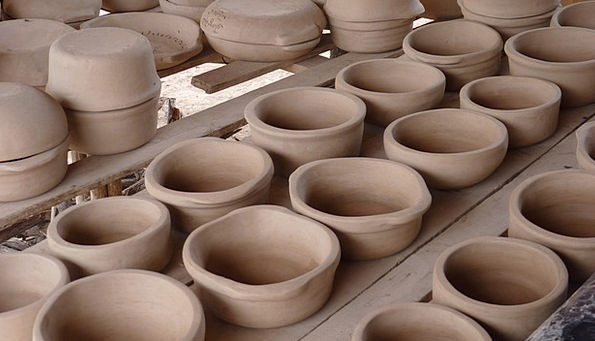 Clay Earthen Craft Industry Ceramic Pottery Mud Po