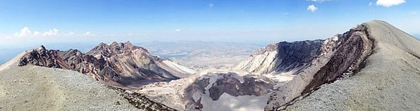 Mountain Crag Landscapes Nature Mount St Helens St