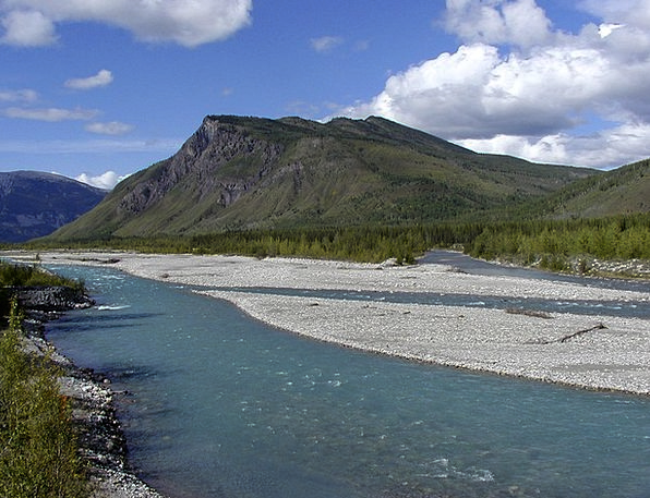 River Stream Landscapes Crags Nature Landscape Sce