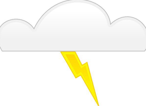 Clouds Vapors Fast Thunderbolt Thunderclap Lightni