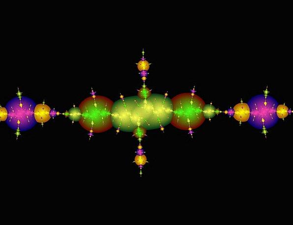 Fractal Rods Bars Colours Wands Batons Energy Colo