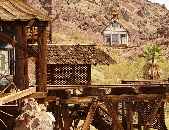 Calico Buildings Architecture Ghost Town Calico Gh