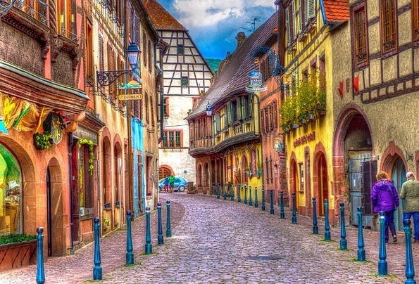 Kaysersberg France Alsace Truss Bind Exaggerated P