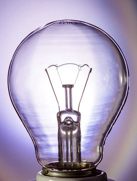 Light Bulb Immediately Directly Glow Lamp Lighting