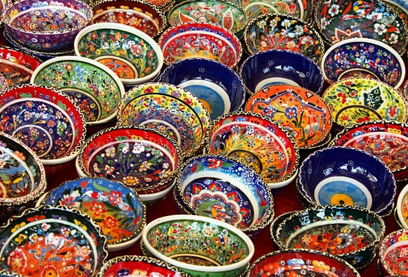 Art Painting Textures Contextual Backgrounds Bowl