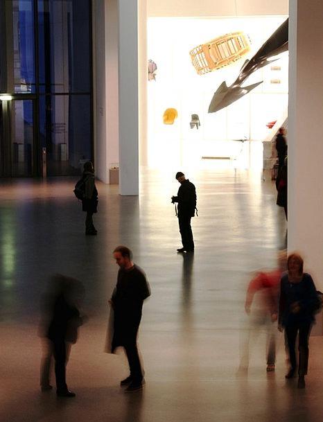 Museum Gallery Munich Art Gallery Human Humanoid M