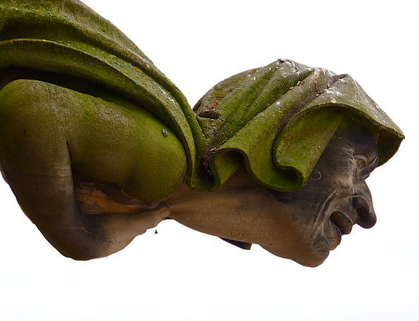 Gargoyle Ornament Man Gentleman Fig