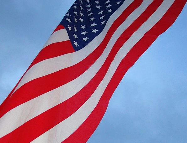 American Standard Sky Blue Flag Stars Costars Stri
