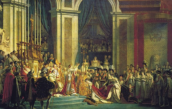 Napoleon King Monarch Coronation Imperator 1806 Em