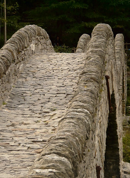 Stone Bridge Bond Stone Pebble Bridge Masonry Ston