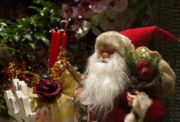 Santa Claus Xmas Christmas Decor Grandpa Grandfath