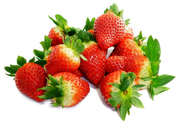 Strawberries Drink Sugary Food Red Bloodshot Sweet