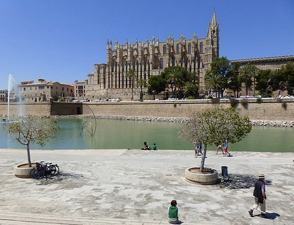Palma Buildings Architecture Cathedral Church Palm