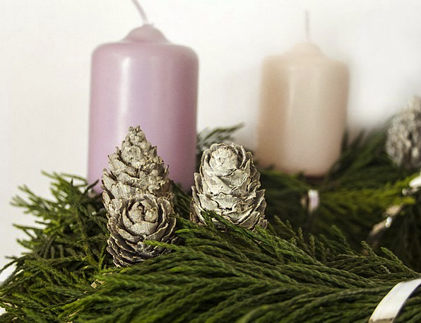 Advent Arrival Taper Christmas Candle Oil Lamp Lam