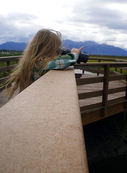 Girl Lassie Eyeglasses Child Youngster Binoculars