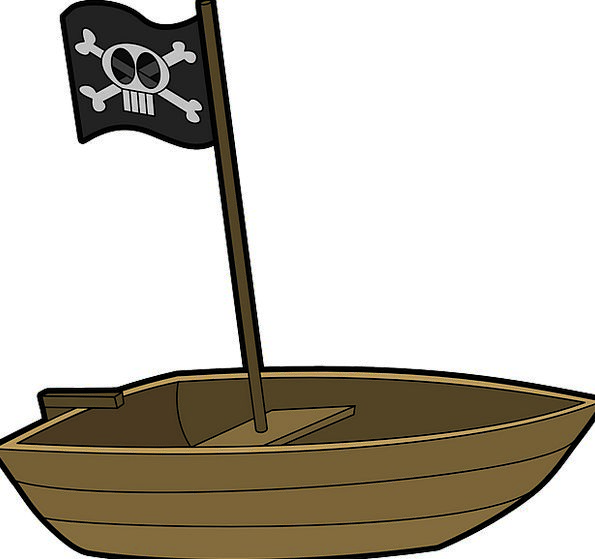 Boat Ship Buccaneer Rowboat Pirate Rowing Paddling
