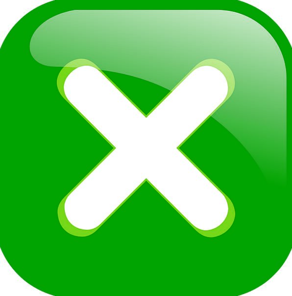 Cross Irritated Key Green Lime Button Icon White Snowy