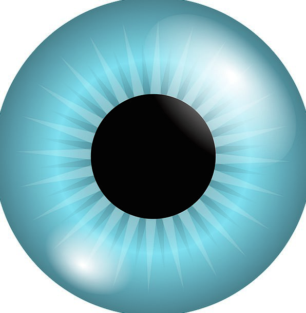 Eyeball Watch Pupil Acolyte Iris Color Blue Azure