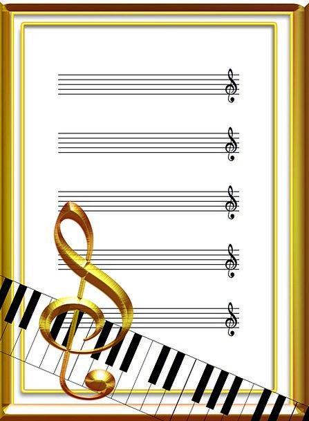Music Melody Acoustics Audibility Sheet Music Clef