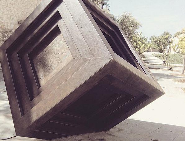 Cube Dice Painting Modern Art Art Sculpture Statue