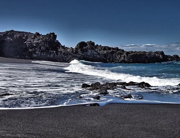 La Palma Atlantic Canary Island Rock Pillar Cliffs