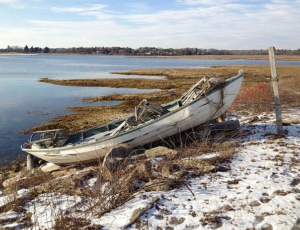 Lobster Skiff Tricks Bay Inlet Traps Cove Boat Shi