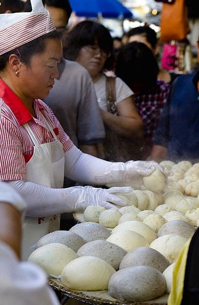 Namdaemun Market Korea Seoul Location Site Pastrie