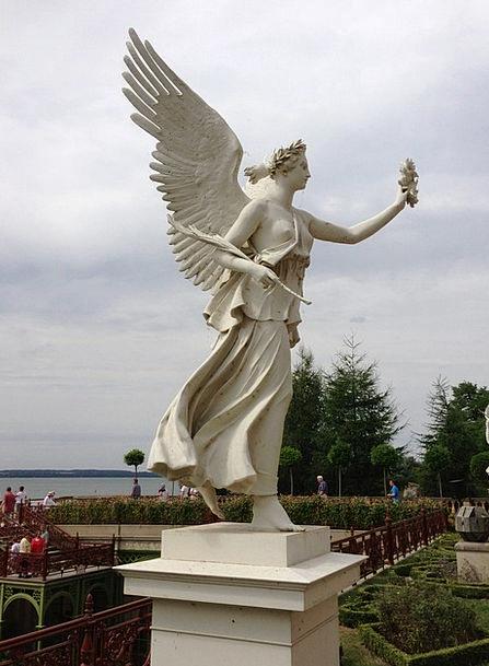 Angel Seraph Statue Schwerin Sculpture Mecklenburg