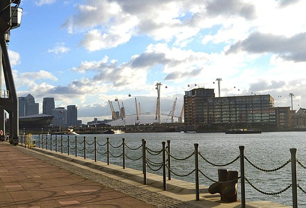 London Buildings Architecture Excel Docklands O2 A
