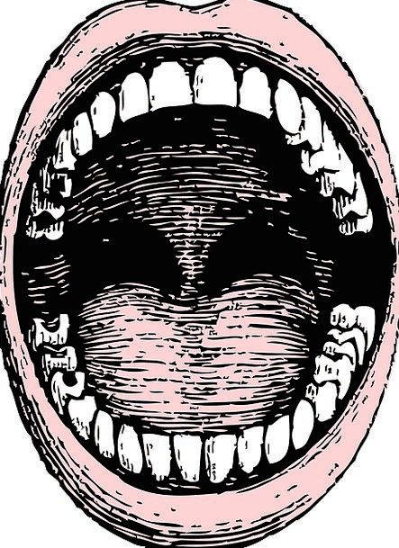 Mouth Entrance Humanoid Teeth Fangs Human Open Exp