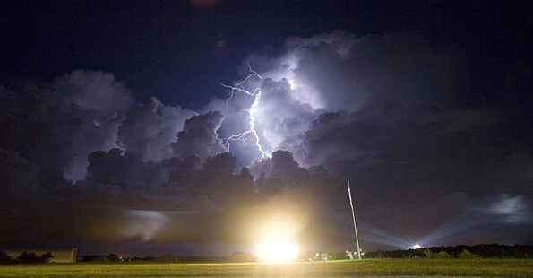 Lightning Fast Climate Rocket Skyrocket Weather As