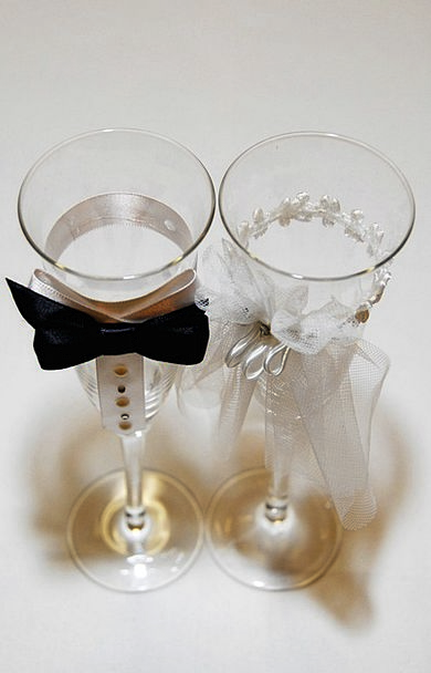 Wedding Bridal Drink Spectacles Food Champagne Bub