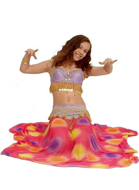 Belly Stomach Ball Oriental Dance Girl Lassie Danc