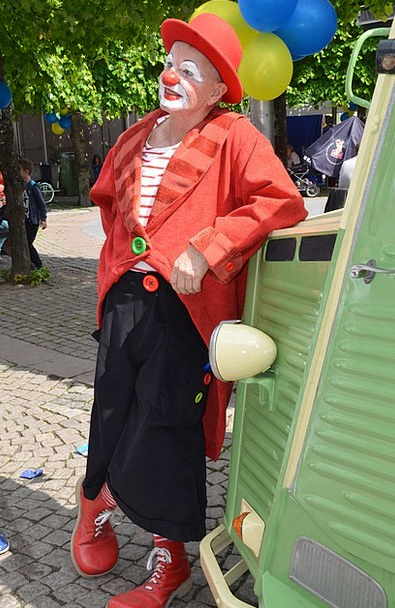 Clown Joker Comic Nose Muzzle Comedian Snoot Circu