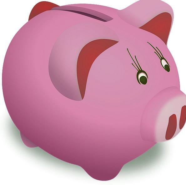 Piggy Bank Finance Business Dollar Buck Coin Curre