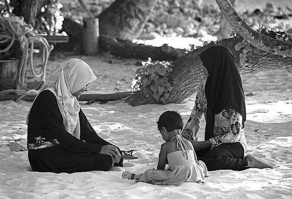 People Public Family Domestic Maldives Female Chil